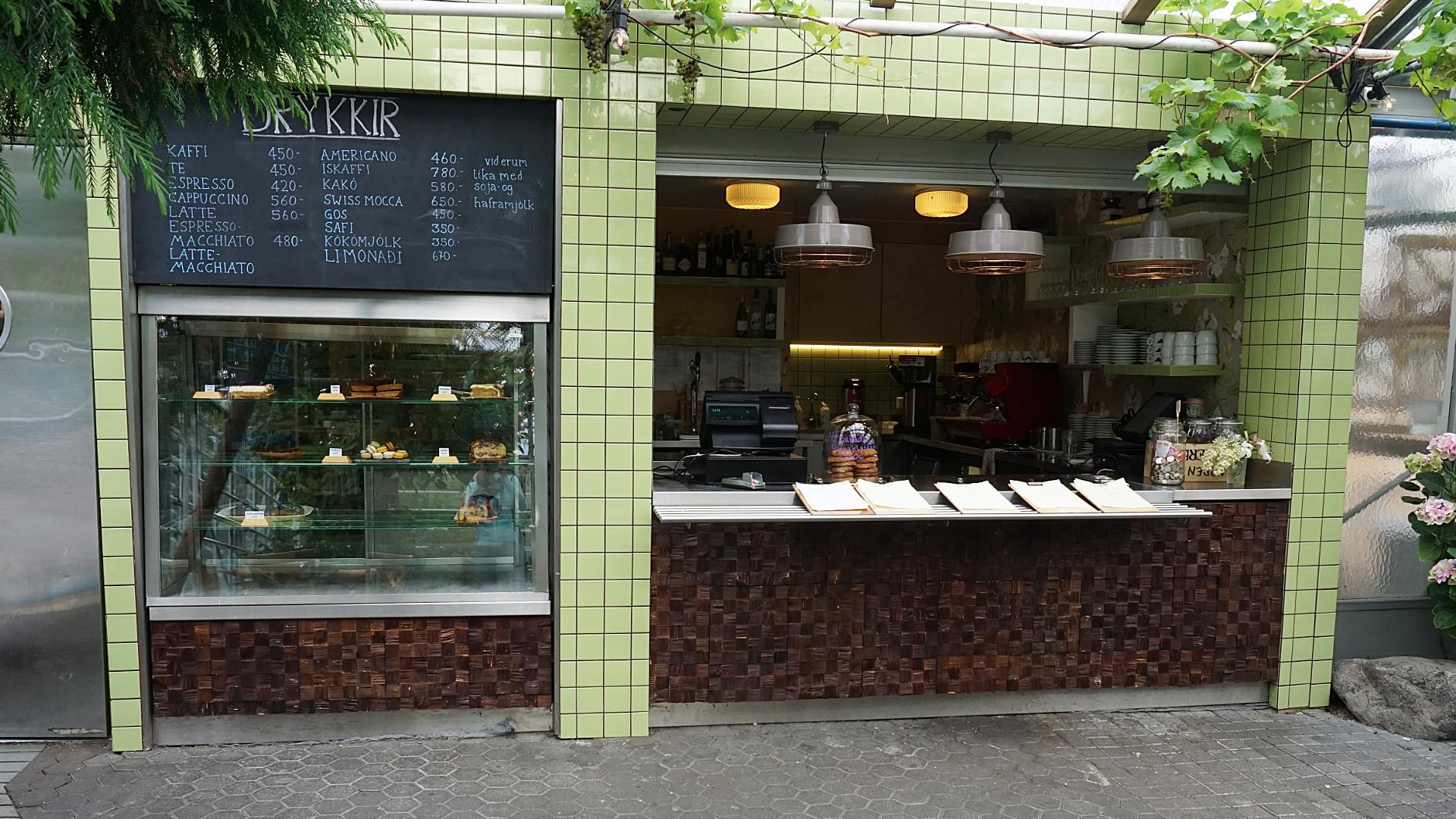 Cafe Flora Reykjavik (Foto: Sabina Schneider)
