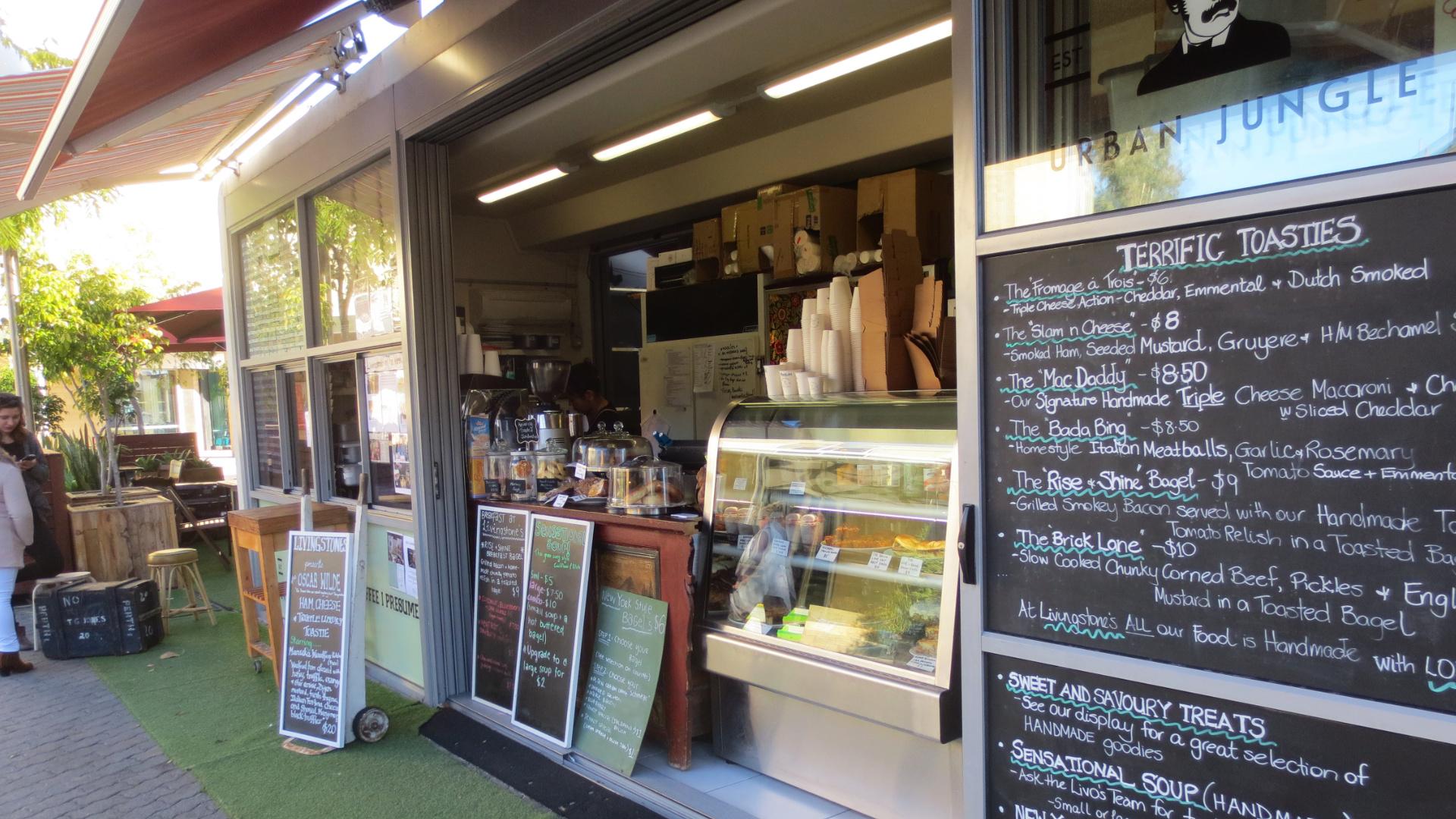 Coffeshop in Perth (Foto: Sabina Schneider)
