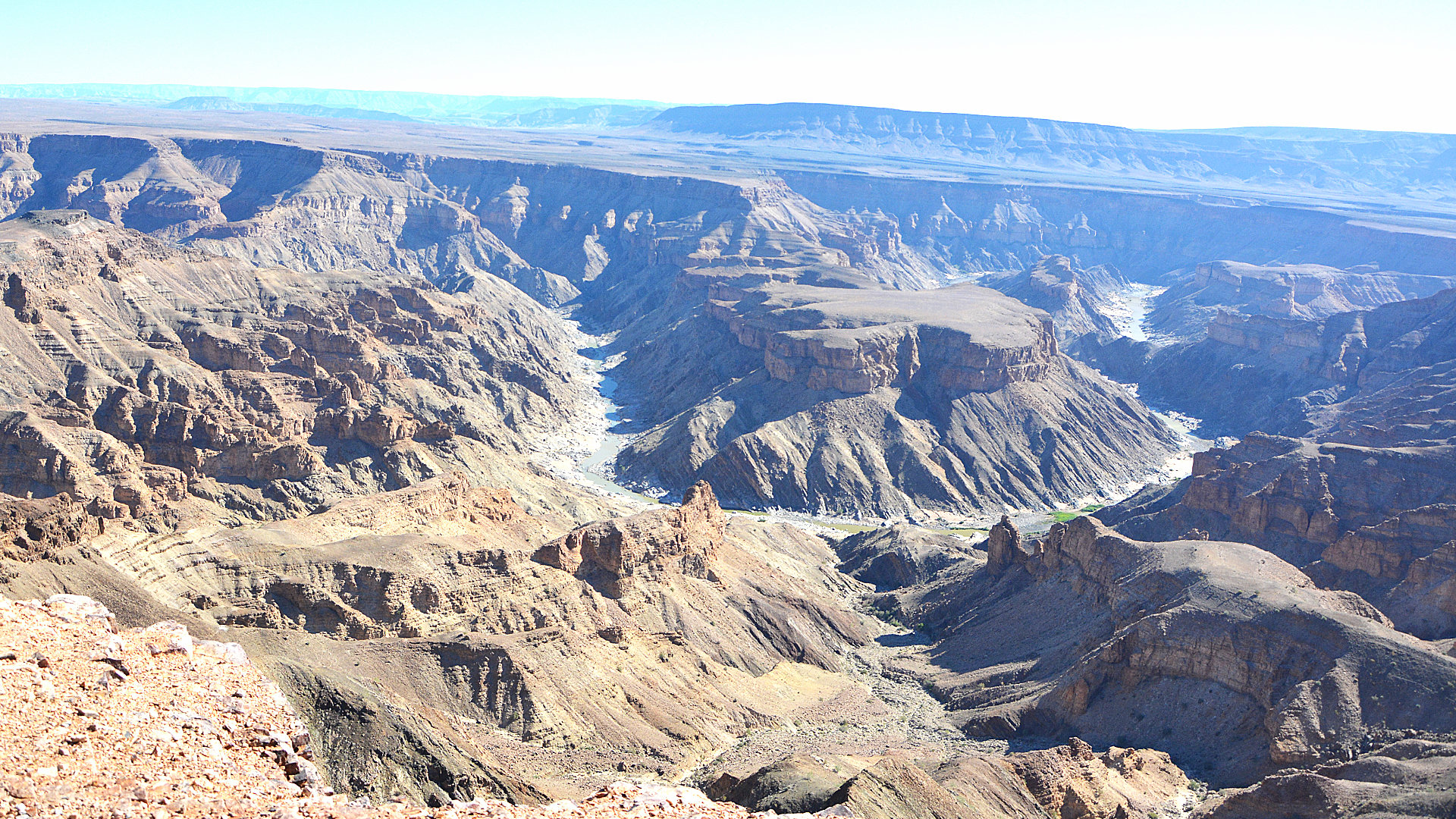 Fishriver Canyon in Namibia (Foto: Sabina Schneider)