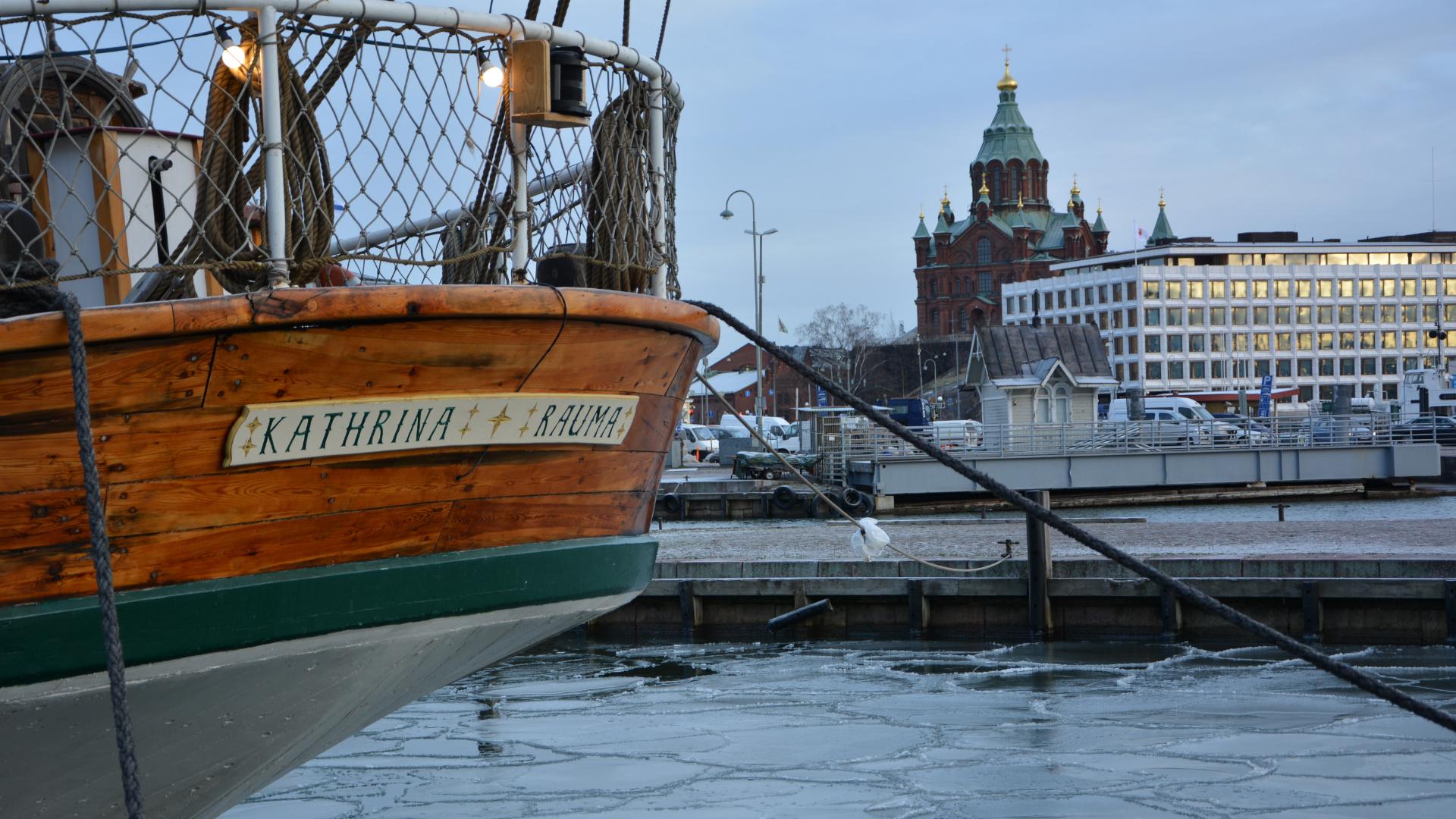 Hafen Helsinki (Foto: Sabina Schneider)