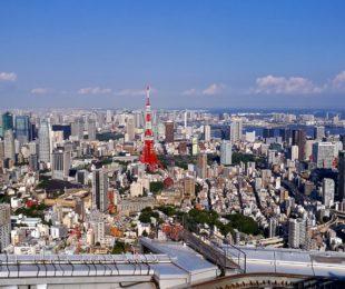 Aussicht über Tokyo (Foto: Marina Hochholzner)