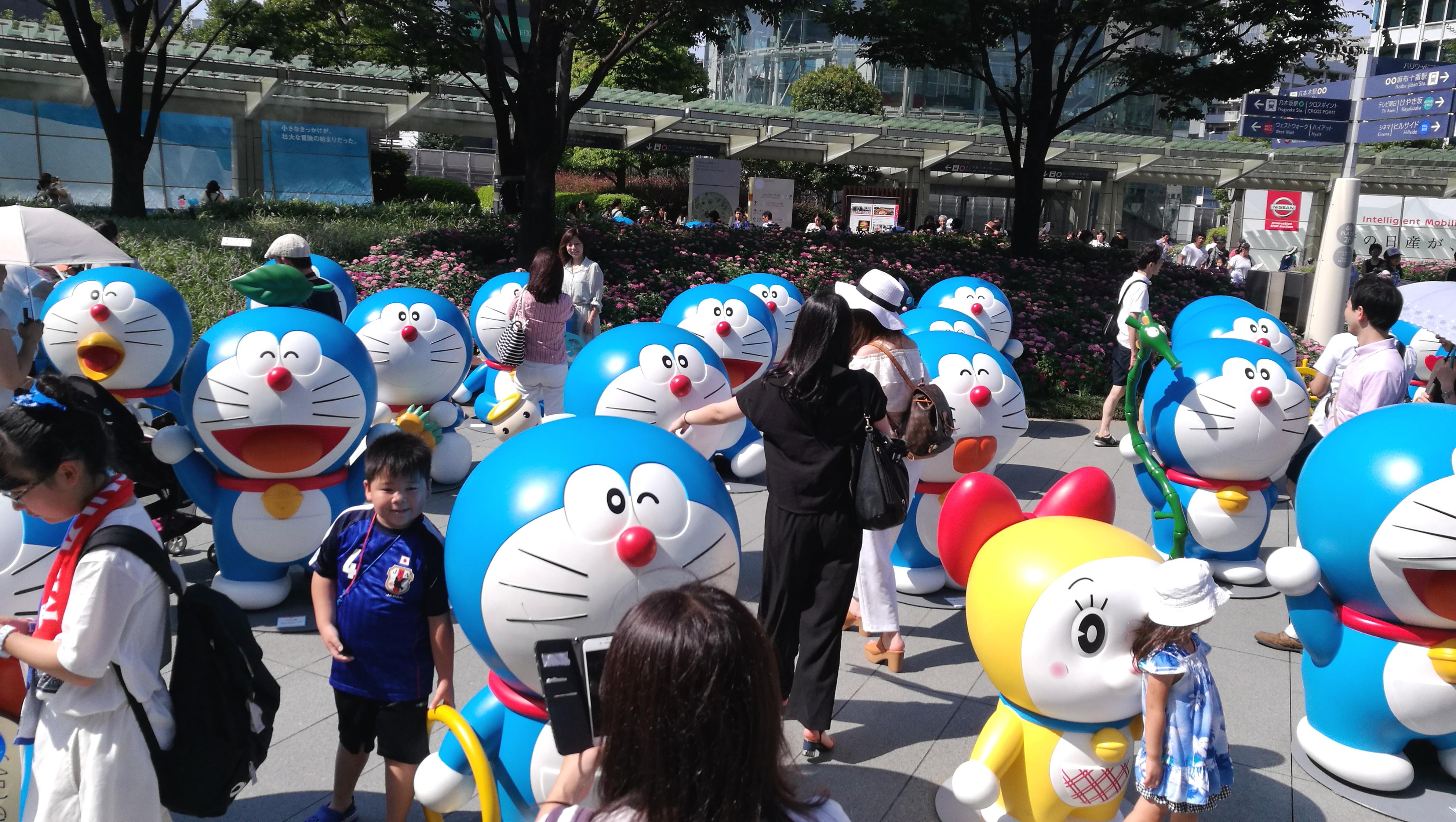Doraemon (Foto: Marina Hochholzner)