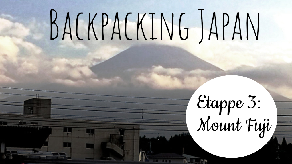 Backpacking in Japan (Foto: Marina Hochholzner)
