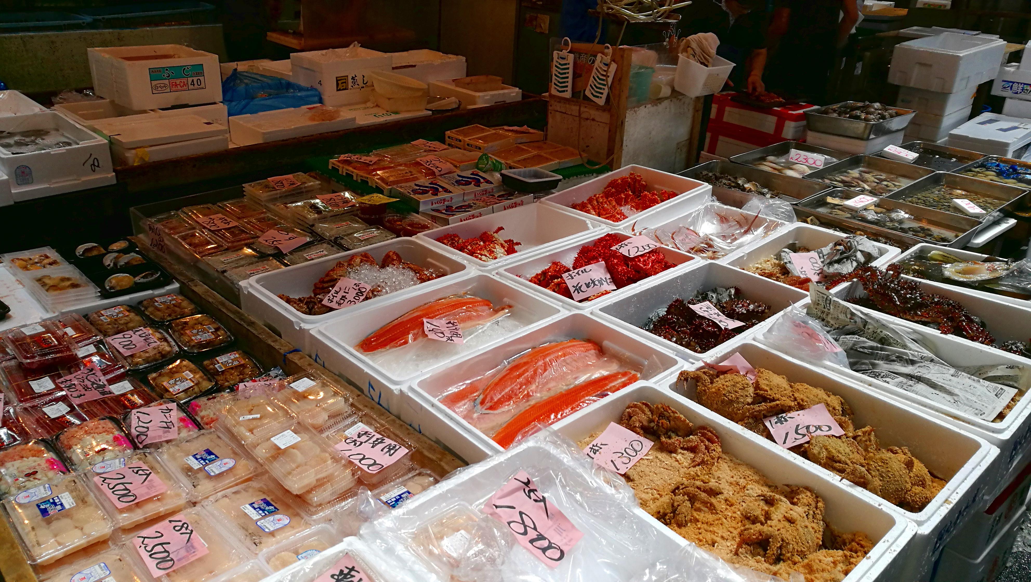 Fischmarkt (Foto: Marina Hochholzner)