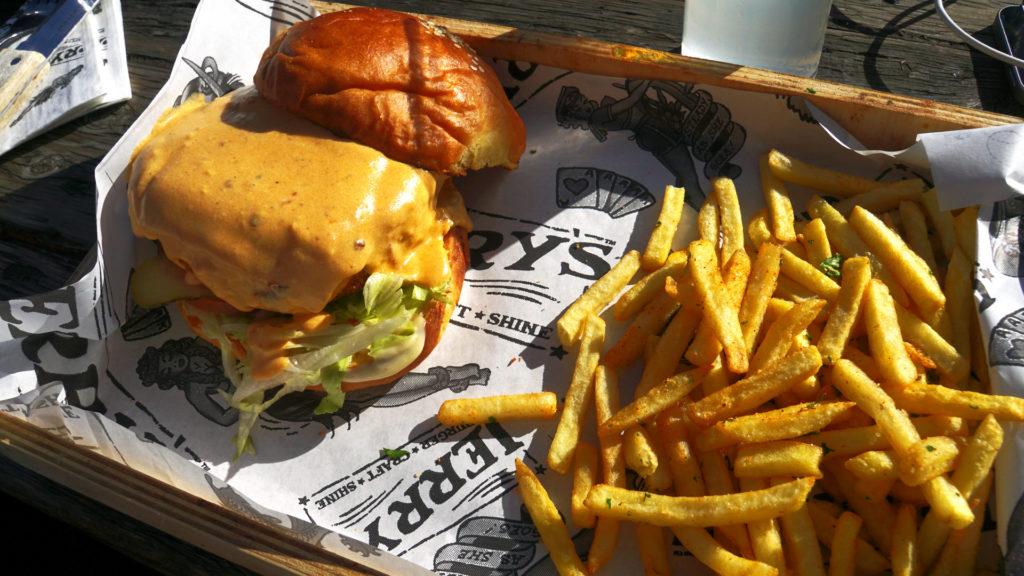 Jerry's burger (Foto: Sabina Schneider)