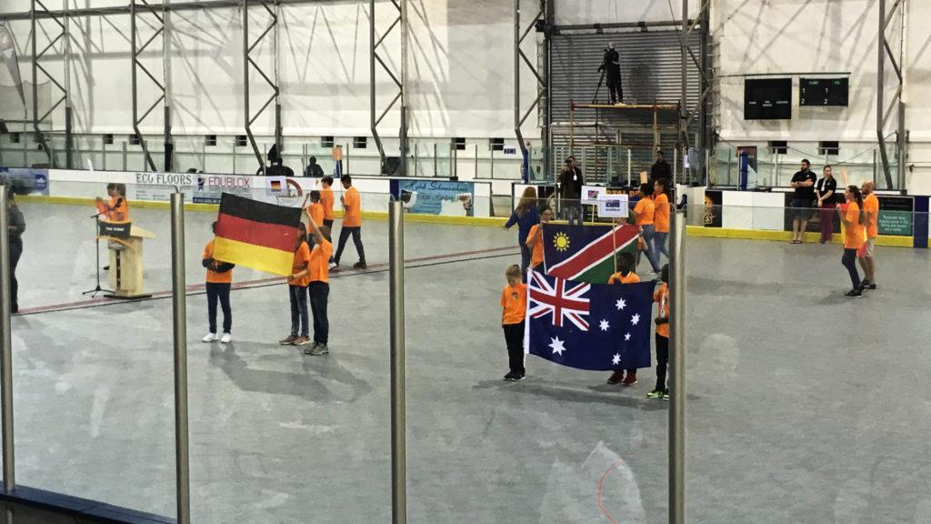 Eröffnung Inline Hockey Africa Cup (Foto: Sabina Schneider)