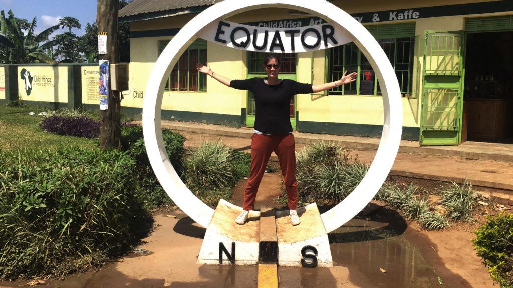 Äquator Uganda (Foto: Sabina Schneider)