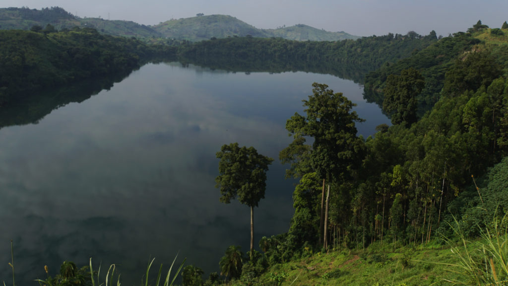 Krater See Uganda (Foto: Sabina Schneider)