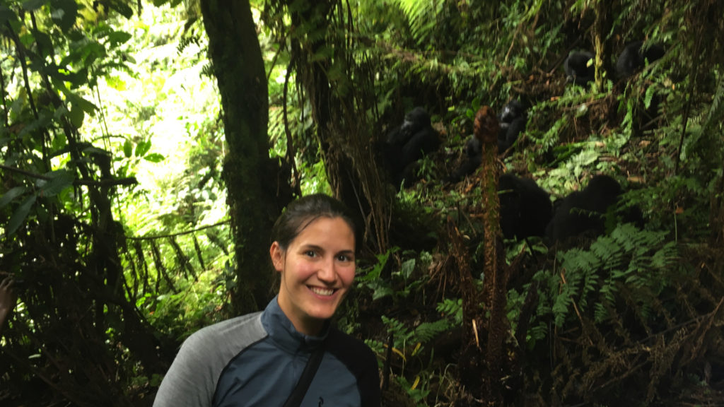 Gorillatrekking (Foto: Sabina Schneider)
