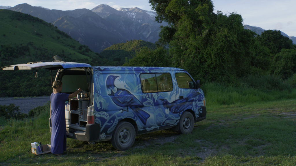 Campen in Neuseeland (Foto: Sabina Schneider)